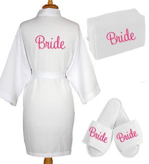 9d31e1034a Personalized Waffle Robe Set with Name