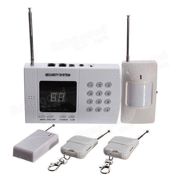 Wireless Autodial Phone Burglar Home Security Alarm System - US$43.33