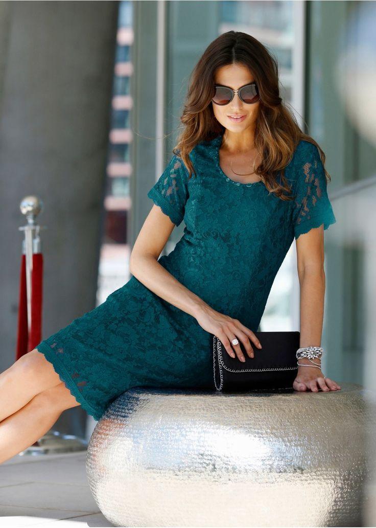 Sukienka koronkowa Premium Elegancka • 199.99 zł • bonprix