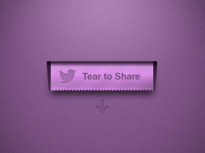Dribbble - Tear To Share by Mike Beecham