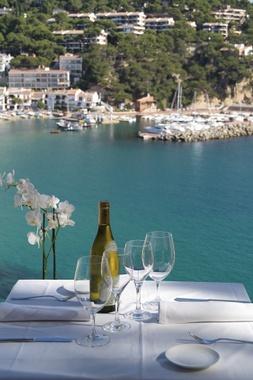 LLafranc (Costa Brava), Hotel y restaurante Casamar. Idilica ubicación y cocina de calidad.