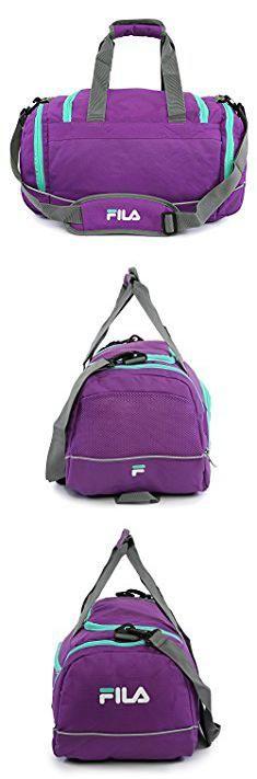 Fila Duffle Bag. Sprinter Small Duffel Gym Sports Bag.  #fila #duffle #bag #filaduffle #dufflebag