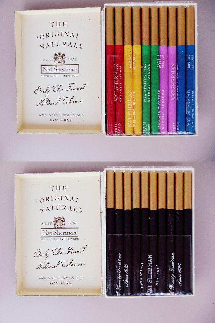 dont smoke often but when I do.....love these-Nat Sherman Cigarettes