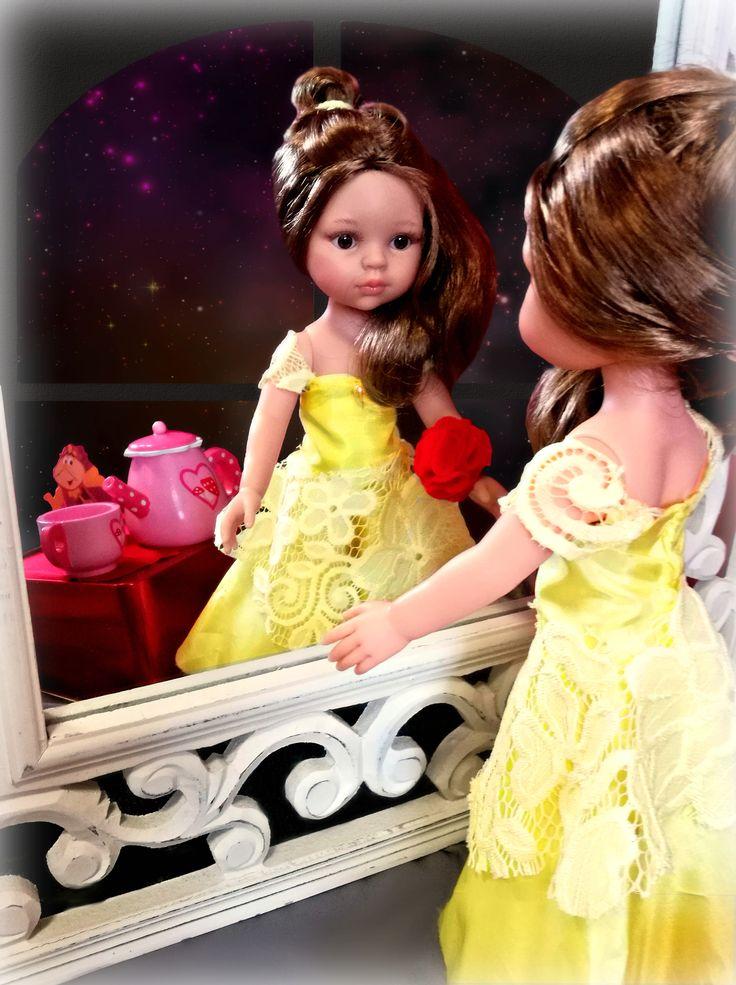 Belle and the Best. Piękna i bestia. Przebieranki z La Lallą. Dress ups with La Lalla Doll. #play #kids #presentidea #giftidea #custmizedpresent #doll #toys #girls