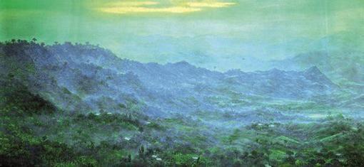 Gonzalo Ariza.  Pintor de los Andes.
