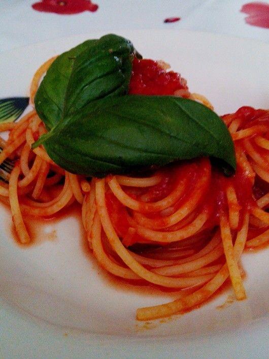 Il piatto piú semplice ma pur sempre gustoso e affascinante per i suoi colori....Buon appetito