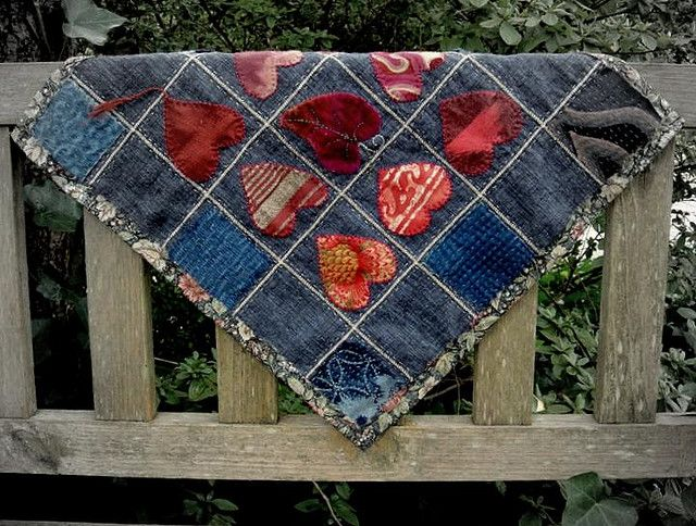 Up-cycled Denim Quilt