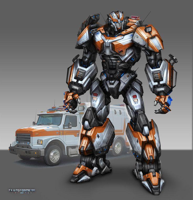 Transformers - Ratchet, Tom Stockwell on ArtStation at http://www.artstation.com/artwork/transformers-ratchet