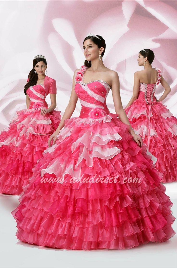 Mejores 48 imágenes de 15 dresses en Pinterest   Vestido de quince ...