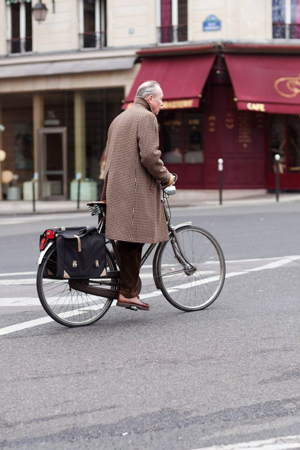 Thursday, March 15, 2012  On the Street… Somewhere in the Rive Gauche, Paris  Via the Sartorialist