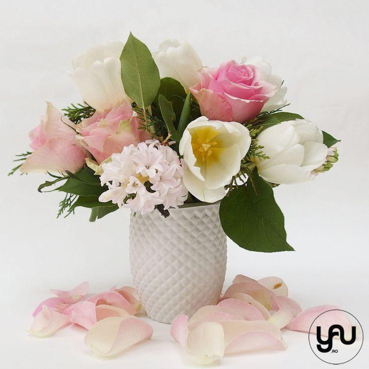 Flori PRIMAVARA ... dispozitie pentru ROZ   YaU Concept BLOG