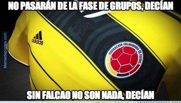 Los memes de la fecha 8 del Mundial en Brasil