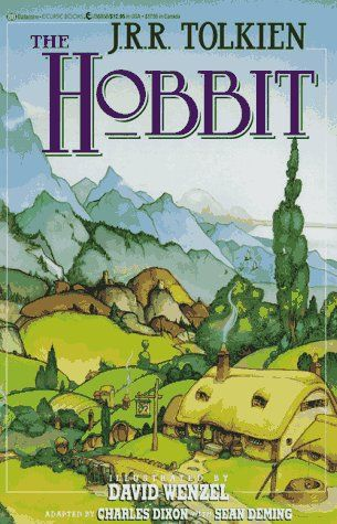 The Hobbit - JRR Tolkien // the only work by Tolkien that I've read, unfortunately. (Hope to make it through the rest of them at some point!)