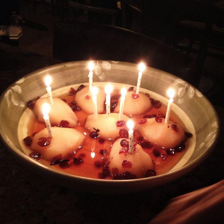 Candle  Chickpea Cake Recipe