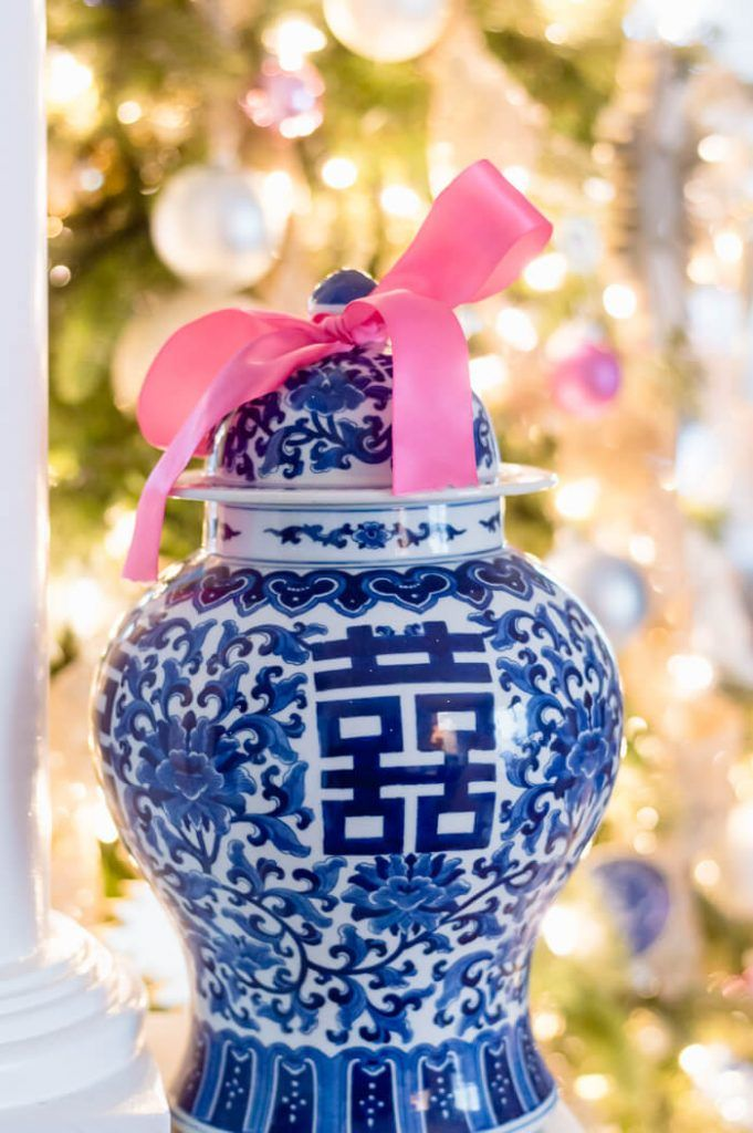 A Blue And White Inspired Christmas Tree The Home I Create Blog