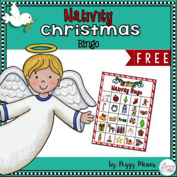 Are you looking for a fun game for your Christian Classroom or Sunday School class?  This sweet Nativity Bingo is sure to spark precious discussions and appreciation for Gods Greatest Gift! 24 Nativity Christmas Bingo cards (5x7)  Calling cards.Nativity Christmas Crowns and Readers TheaterNativity Christmas Little Riddle BookNativity Write the Room**************************************************************************Customer Tips: How to get TPT credit to use on future purchases…
