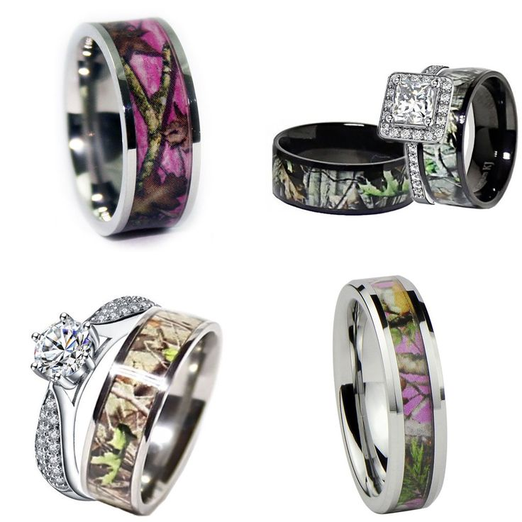 Camo Rings - Real Country Ladies