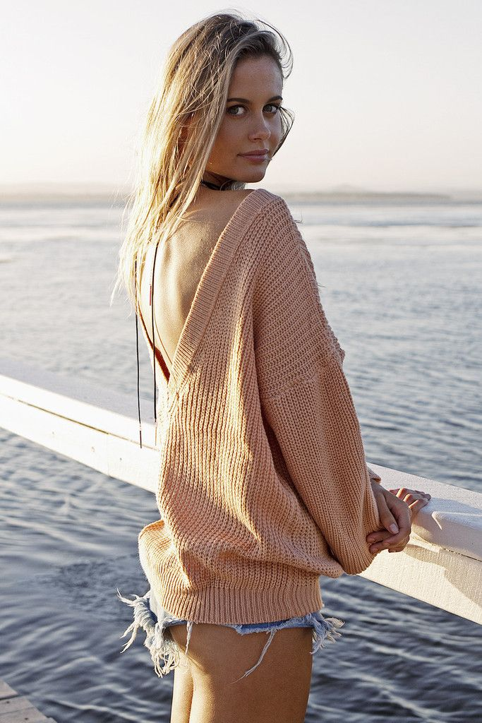 Dreamlike Knit in Blush. Shop it now at- http://www.her-empire.com/collections/outerwear/products/dreamlike-knit-in-blush