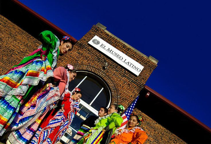 "First Latino art and history museum and cultural center in the Midwest. View world class permanent and traveling exhibitions featuring local, national and international Latino art and culture. Bilingual educational programs offered year round with exhibits, including workshops, lectures, demonstrations, with ongoing art, theater, dance and music classes. Special events, concerts by local and visiting artists, and performances by ""CHOMARI"" Ballet Folklorico Mexicano. Accessible."