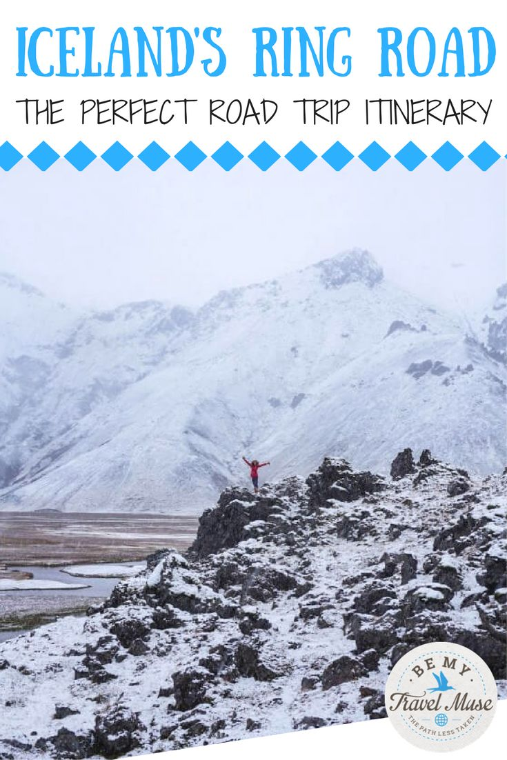 The ultimate 7-day Iceland Ring Road itinerary: waterfalls, fjords, northern lights and more! Practical tips for you trip. || Be My Travel Muse - Solo Female Travel Adventure Blog
