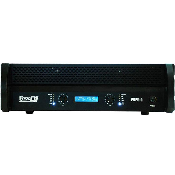 Amplificador de potencia PVP-9, PRO DJ tan solo $1.800.000.