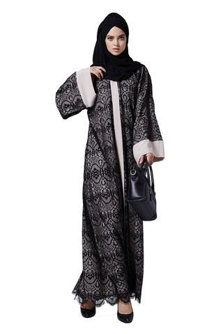 Top-quality occasion open front designer modern abaya