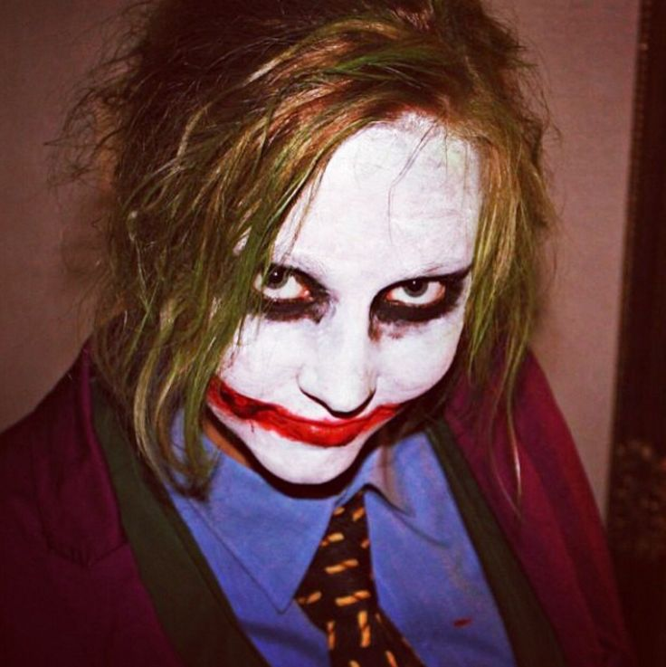 Halloween party dressed as joker from Batman . - Why ssso ssserious?! ;D