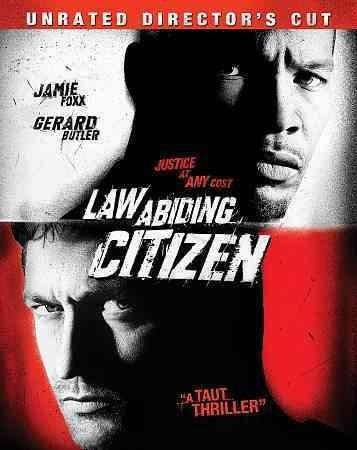 In LAW ABIDING CITIZEN, a prisoner's incredible reign over the city outside his cell is interrupted by an assistant district attorney. Gerard Butler (300) stars.