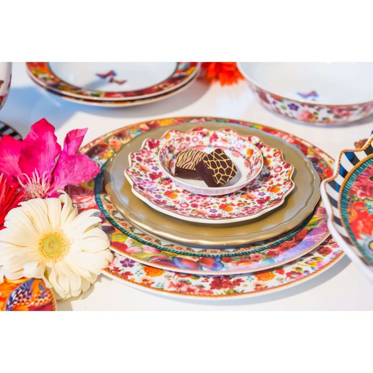 MELLI MELLO Eliza - Assiette plate - multicolore