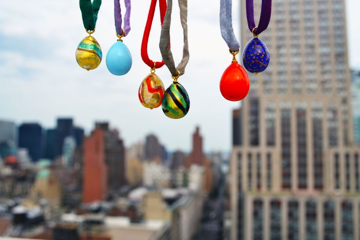 Murano Glass pendants from Italy -->  NYC