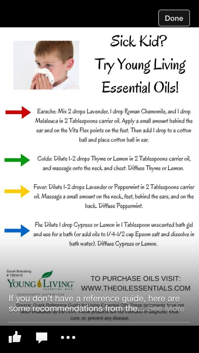 Young Living Oils - Children and Oils