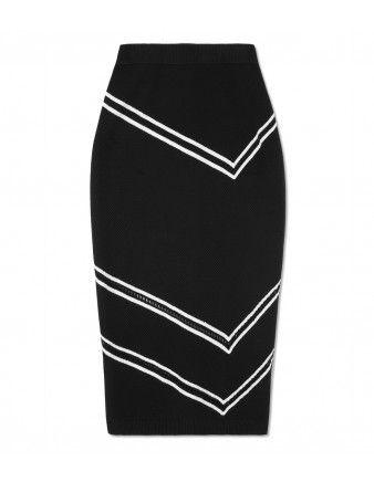 Tanya Taylor Peggy Knit Skirt