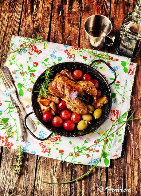 Pollo tomatero by Frabisa, via Flickr
