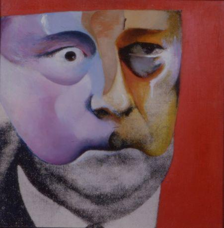 Richard Hamilton - Portrait of Hugh Gaskell Famous Monster of FilmLand