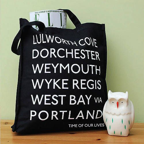 Personalised Destinations Shopper Bag - Not on the high street