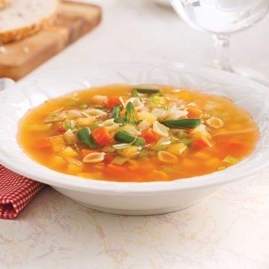Soupe aux légumes - Recettes - Cuisine et nutrition - Québécoise traditionnelle - Pratico Pratiques