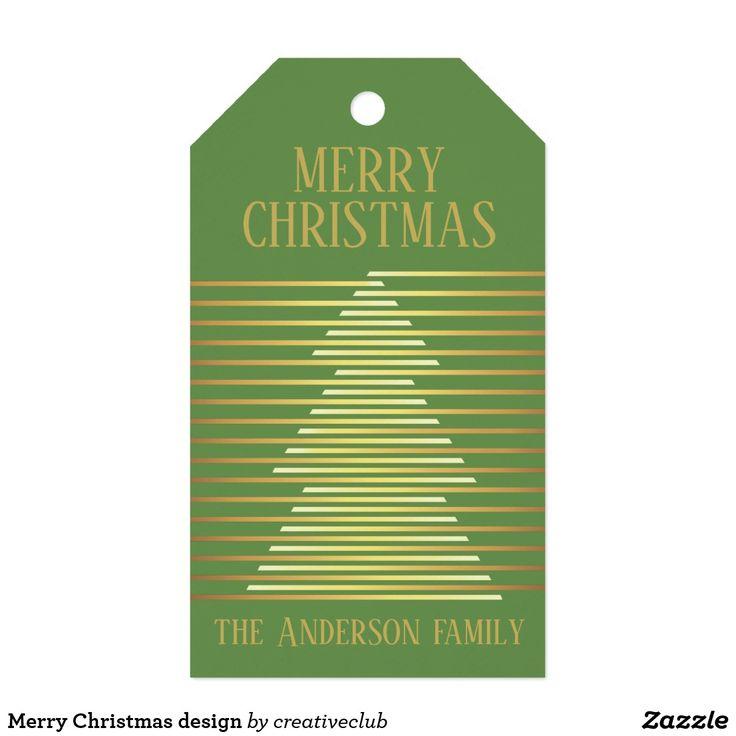 Merry Christmas design #merrychristmas #gifttags