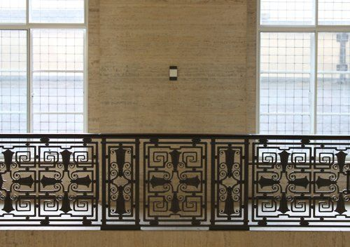 Best Art Deco Railings Images Pinterest