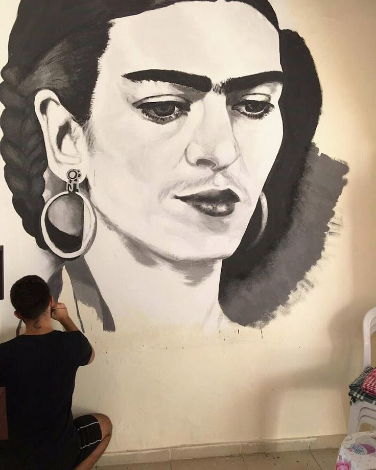 Frida Kahlo drawing, took about 30 hours to finish