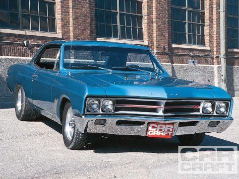 Bill Wojcik's 1967 #Buick Skylark GS 400