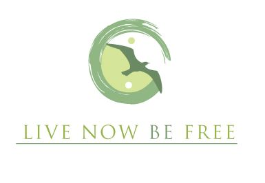 green logo design for live now be free by thelogoboutique.com - wellness, ying-yang, green, peaceful