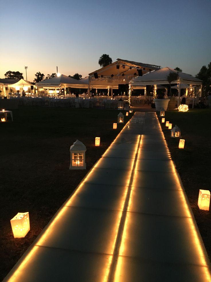 Romantic wedding by the sea