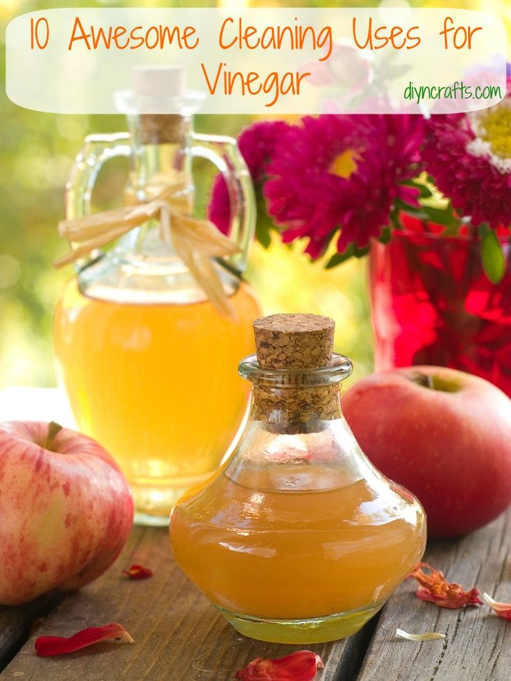 10 Awesome Cleaning Uses for Vinegar