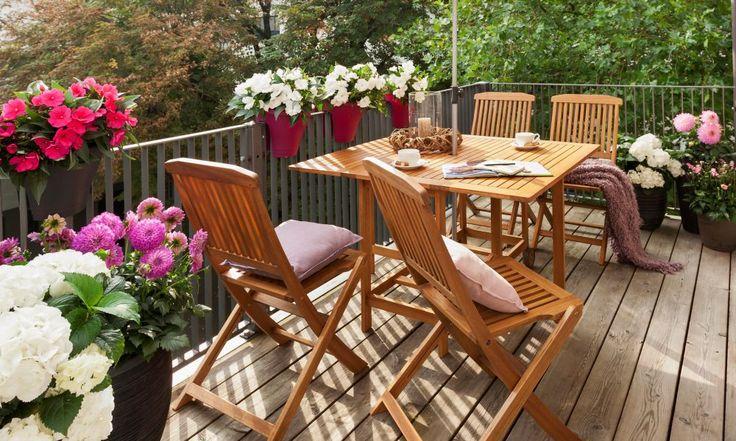 balkon to taka namiastka ogrodu. oto wskazówka, jak ciekawie go zaaranżować ;)