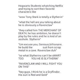 He's Ravenclaw. End of discussion.