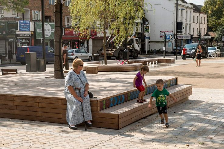 Brentford High Street (Hounslow, London) : making the connection « Kinnear Landscape Architects