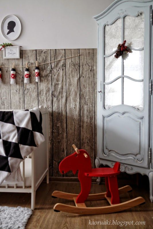 christmas baby boy room
