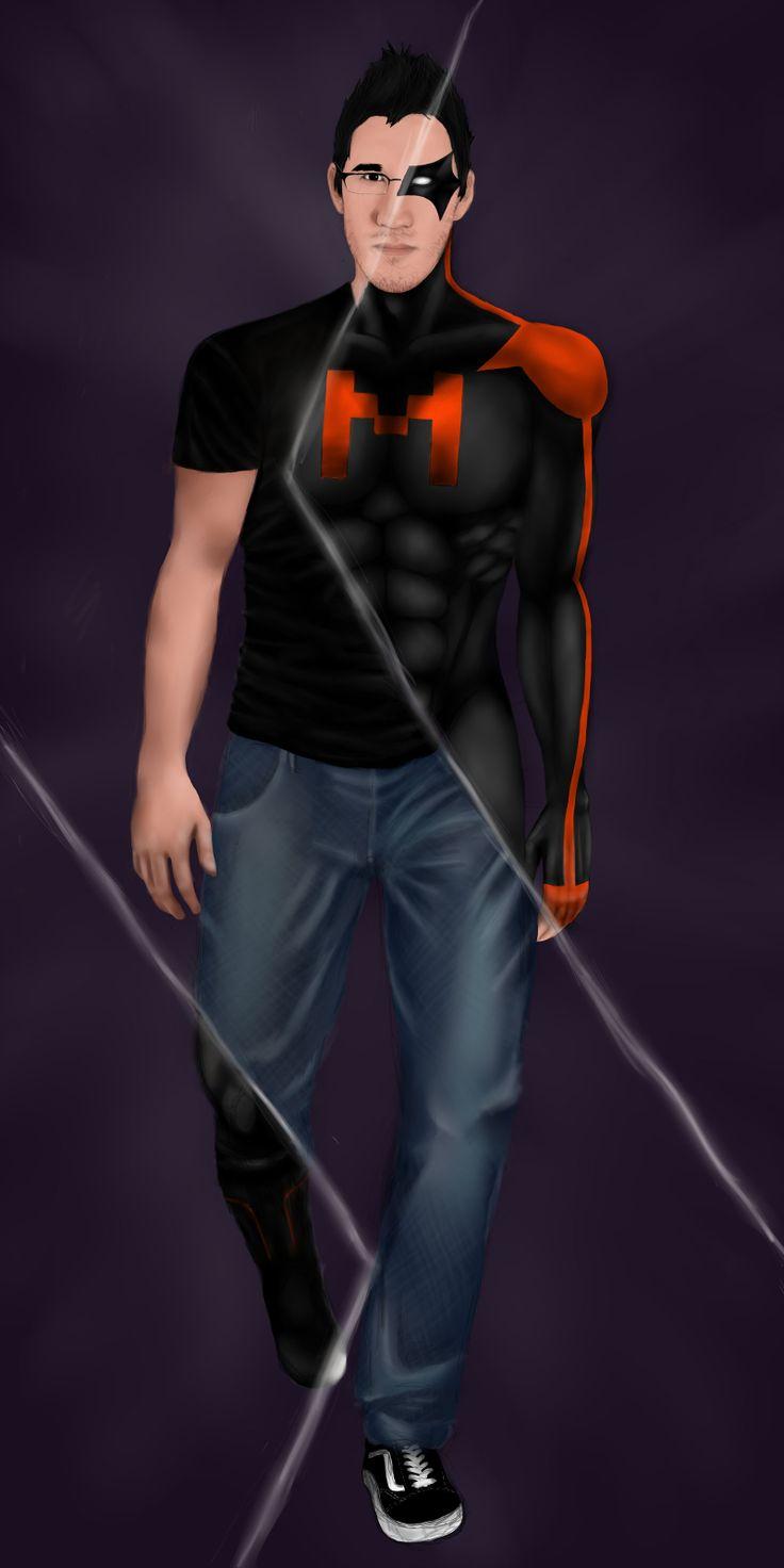 Markiplier Hero by vixicolor.deviantart.com on @deviantART