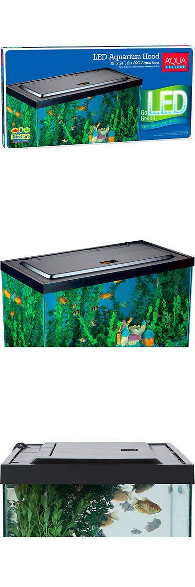 Best 25 aquarium hood ideas on pinterest tank stand for 55 gallon fish tank led light hood