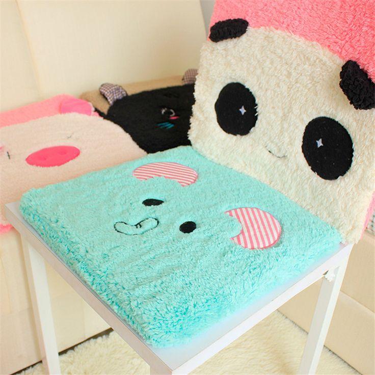2016 1PCS Soft Chair Seat Cushion square Pillow Home School  Office Car Pad Cute Cartoon  Animal  Children Adults   #Affiliate
